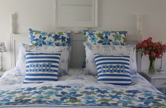 The Blue Room - Spring Cottage B&B Bognor Regis